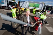 Councillor Mike Brian welcomed the fleet upgrade
