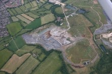 Viridor's Calne landfill site in Wiltshire is being restored to a